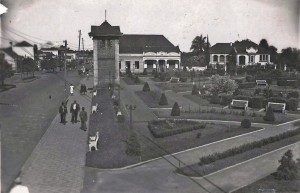 Carazinho Praça Brasil(atual Praça Albino Hillebrand) déc1940