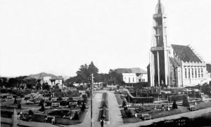 Carazinho Praça Central 1945
