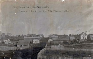 Carazinho Rua Barão de Antonina(acervo Museu Olívio Otto) 1929