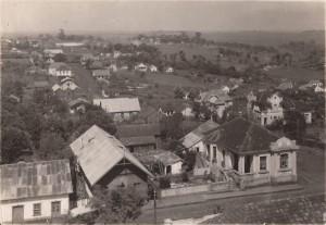 Carazinho Rua Pedro Vargas, década de (Arquivo Museu Olívio Otto) 1940