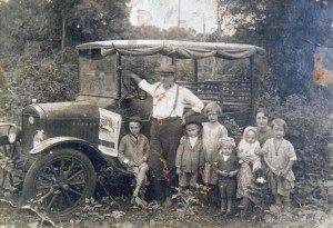Carazinho Viagem de família para a Serra déc1920
