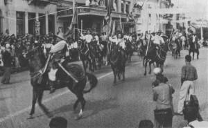 Caxias do Sul Piquete de cavalarianos