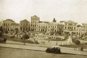Caxias do Sul Praça Dante Alighieri déc1940