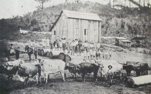 Caxias do Sul Propriedade de Italo Masotti na zona rural final sécXIX