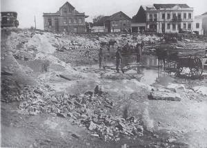Caxias do Sul Rebaixamento da Praça Dante Alighieri (Geremia) déc1940