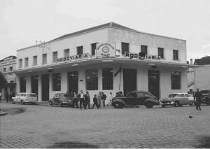 Caxias do Sul Rodoviária Rua Sinimbu com Rua Moreira César Inauguração 15-11-1958