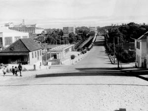 Caxias do Sul Rua Alfredo Chaves Parque dos Macaquinhos(acervo Arquivo Municipal João Adami) déc1960