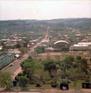 Cerro Largo Foto tirada da torre da igreja 1977