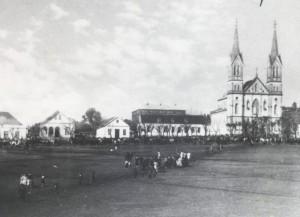 Cerro Largo Praça central déc1920