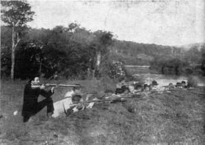 Cerro Largo Trincheira da revolução de 1922-23