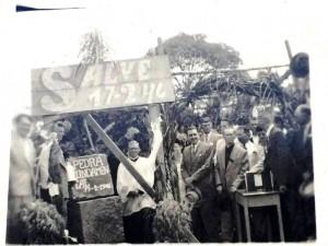Ciriaco Lançamento pedra fundamental Hospital Santa Teresinha 1946