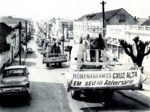 Cruz Alta Aniversário 149 anos 1970