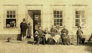 Cruz Alta Família Schoeder Escravo liberto e sua filha à esquerda