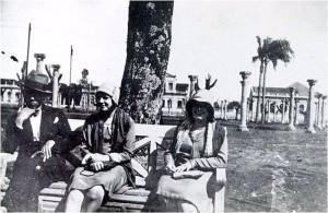 Cruz Alta Praça(Érico Lopes Veríssimo e Dona Mafalda