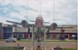 Cruz Alta Rodoviária Avião 02-1980