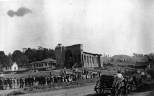 David Canabarro Construção Igreja Matriz (acervo Junior Dalanhol) 1953