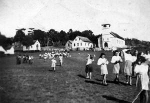 David Canabarro Igreja destruída por incêndio (acervo Junior Dalanhol) 1944
