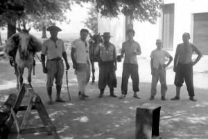 Encruzilhada do Sul Peões da Fazenda São José(acervo Ricardo Sgrillo) 1967