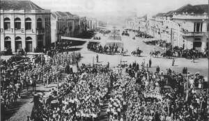 Erechim Dia da Pátria Av Maurício Cardoso déc1930