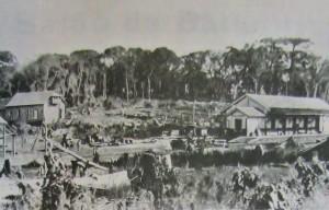 Erechim Estação Ferroviária Paiol Grande 1917