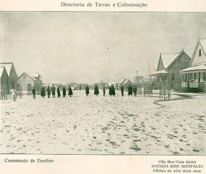 Erechim Nevasca 1917