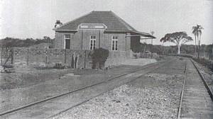 Esteio Primeira Estação Ferroviaria déc1940