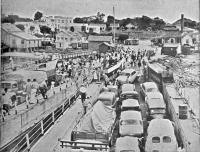 Guaíba Travessia de barcas para Porto Alegre déc1950