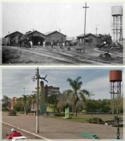 Passo Fundo Parque da Gare 1930 e 2011