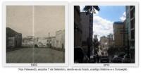 Passo Fundo Rua Paissandú 1953 e 2012