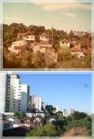 Passo Fundo Sentido Boqueirão-centro déc1970 e 2014