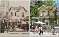 Porto Alegre Chaé da Praça XV 1920 e 2012