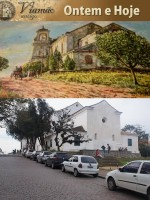 Viamão Igreja Antiga e Atual(foto Paulo Lilja)