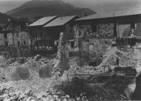 Caldonazzo Guerra Destruição 7