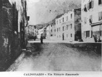 Caldonazzo Guerra Via Vittorio Emanuele