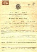 Certidão Archimar da Silva Prati
