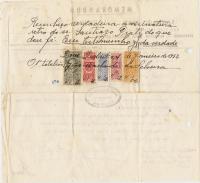 Memorandum de SantiagoPrati para JoséTavares verso