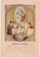 Batismo Antônio Gabriel