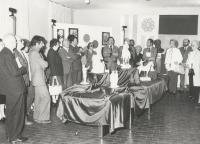Edmondo Prati Inaugurazione Mostra Caldonazzo 18-05-1983 1