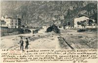 Eugenio Prati Cartolina inviata  al dott Damiano Graziadei di Caldonazzo 26-08-1904
