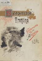Eugenio Prati Copertina Strenna Trentina 1894
