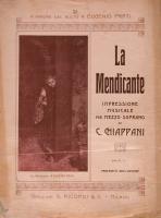 Eugenio Prati Musica La mendicante di G Chiappani